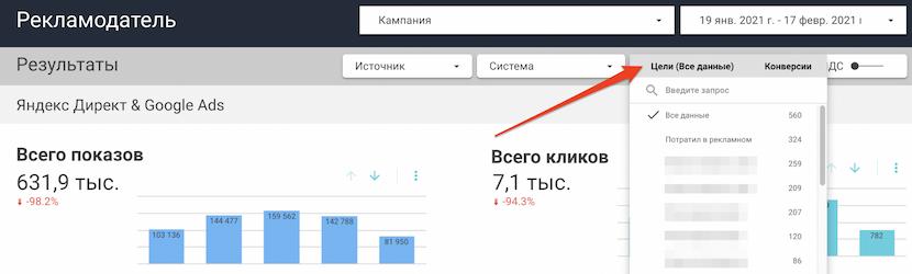 Модуль «Отчеты» обновлен по запросам пользователей Click.ru